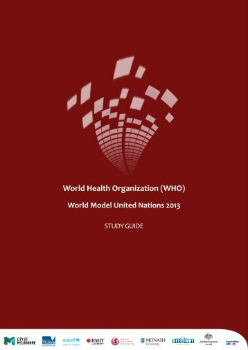World Health Organization (WHO) - World Model United Nations