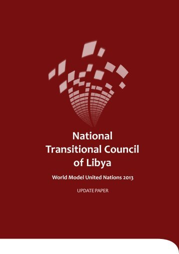 NTC Update Paper - World Model United Nations