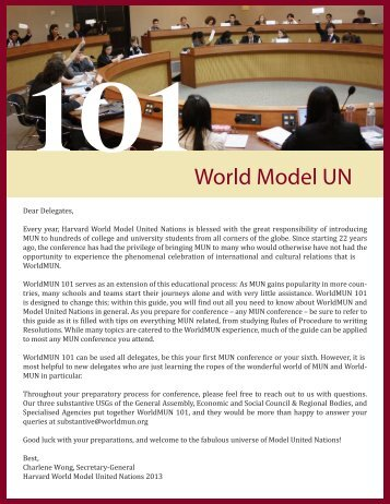here - World Model United Nations