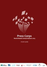 Press Corps - World Model United Nations