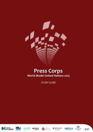 Press Corps - World Model United Nations