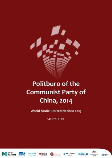 Politburo of the Communist Party of China, 2014 - World Model ...
