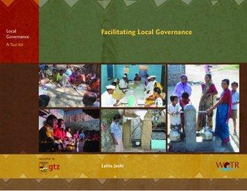 Facilitating Local Governance – English, PP: 109, PDF - wotr