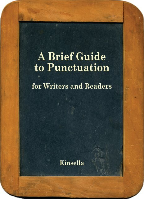 Brief Guide to Punctuation - Richard Stockton College Word Press ...