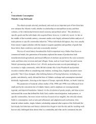 transatlantic consumption. - Richard Stockton College Word Press ...