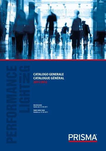 CATALOGO GENERALE CATALOGUE GéNéRAL 2011/2012