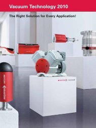 Vacuum Technology 2010 - PHOTON Info