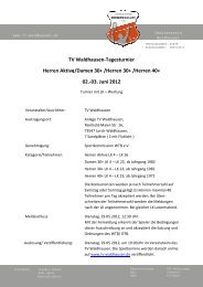 03. Juni 2012 30+ /Herren 40+ - WTB
