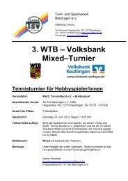 Ausschreibung mit Faxanmeldung (pdf) - WTB
