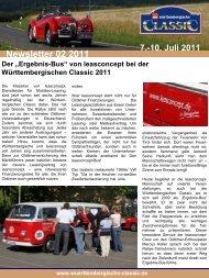 10. Juli 2011 Der - Württembergische Classic