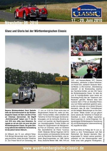 Glanz und Gloria bei der Württembergischen Classic