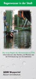 Entwässerung von Grundstücken (PDF, 12 MB) - Stadt Wuppertal