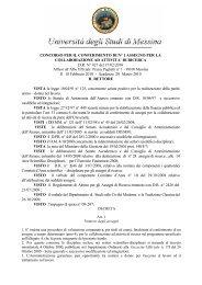 D.R. N.427 - Università degli Studi di Messina