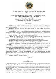 D.R. N.2788 - Università degli Studi di Messina