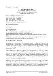 ing. Gerardo Porreca www.puntosicuro.it Senten