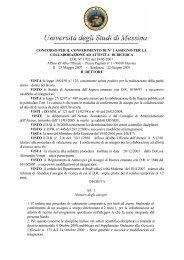 DI RICERCA DR N° 1702 del 18/05/2007 Il - Università degli Studi ...