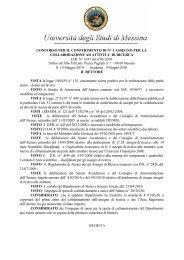 D.R. N.1347 - Università degli Studi di Messina