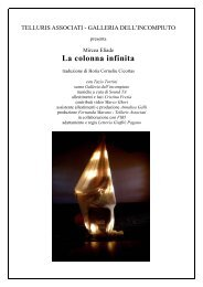 TELLURIS ASSOCIATI - Università degli Studi di Messina