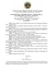 DI RICERCA DR N° 3936 del 21/12/2009 Il - Università degli Studi ...