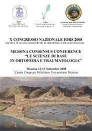 Programma definitivo - Università degli Studi di Messina