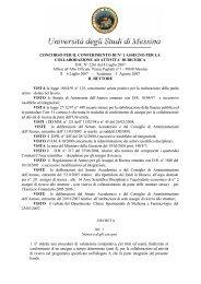 DI RICERCA DR N° 2261 del 4 Luglio 2007 Il - Università degli ...