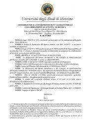 DI RICERCA DR N° 3088 del 28/09/2009 Il - Università degli Studi ...