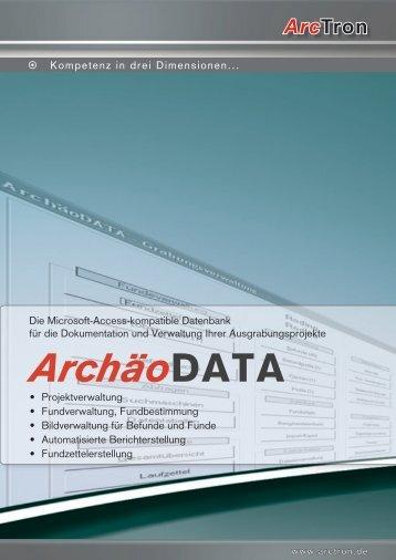 Archäodata - Arctron
