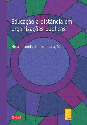 Educação a distância em organizações públicas