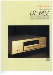 DP-65V - Accuphase