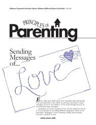 Sending Messages...of Love - Alabama Cooperative Extension System