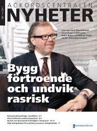 AC Nyheter nr 1 2011 - Ackordscentralen