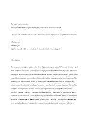 The unique vector constraint - Acsu Buffalo