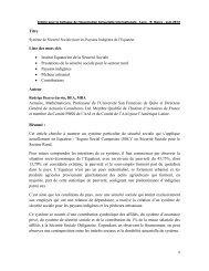 Titre Liste des mots clés • Institut Equatorien de la Sécurité Sociale ...