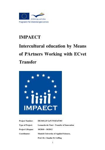 IMPAECT Handbook.pdf - ADAM - Leonardo da Vinci Projects and ...