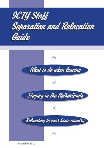 ICTY Staff Separation and Relocation Guide (Working Final A5).