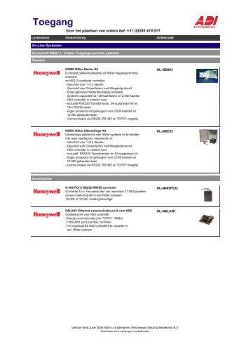 NL-ACC- 2-6100 Online Systemen-170506 - ADI-GARDINER