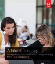 Adobe & utbildning