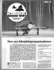 BAS 90, Den nya klargöringsorganisationen