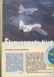 Flygvapnets historia 1926 till 1996.