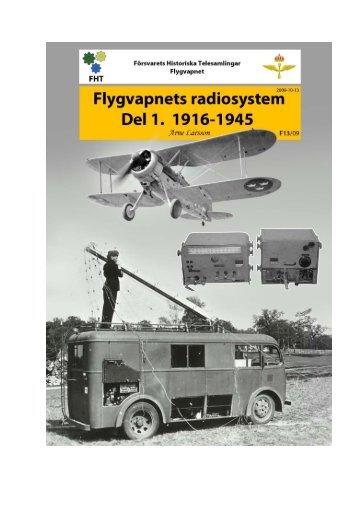 Flygvapnets radiosystem 1916 till 1945
