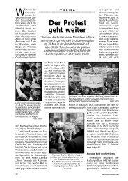 Der Protest geht weiter - Ärztekammer Nordrhein