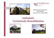 Ambulante Geriatrische Remobilisation - Ärztekammer für Kärnten