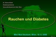 Rauchen und Diabetes