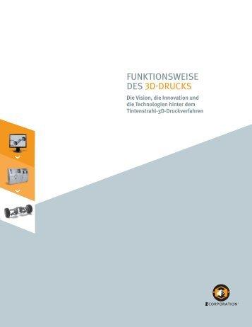 Page 1 Funktionsweise Des3d-Drucks Die Vision, die Innovation ...
