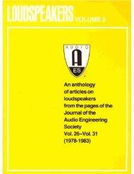 VOLUME 2 - Audio Engineering Society