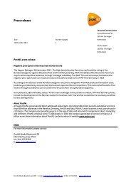 Press release - AFM