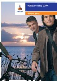Halfjaarverslag 2009 - AFM