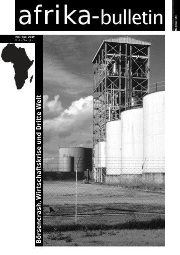 Nr. 134, Mai/Juni 2009 - Afrika-Komitee