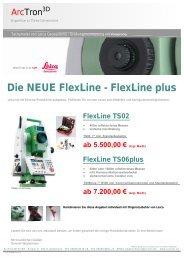 Die NEUE Flexline - Flexline plus - Arctron