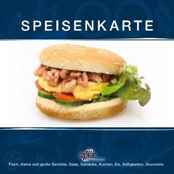 Fisch, kleine und große Gerichte, Salat, Getränke, Kuchen ... - AG Ems